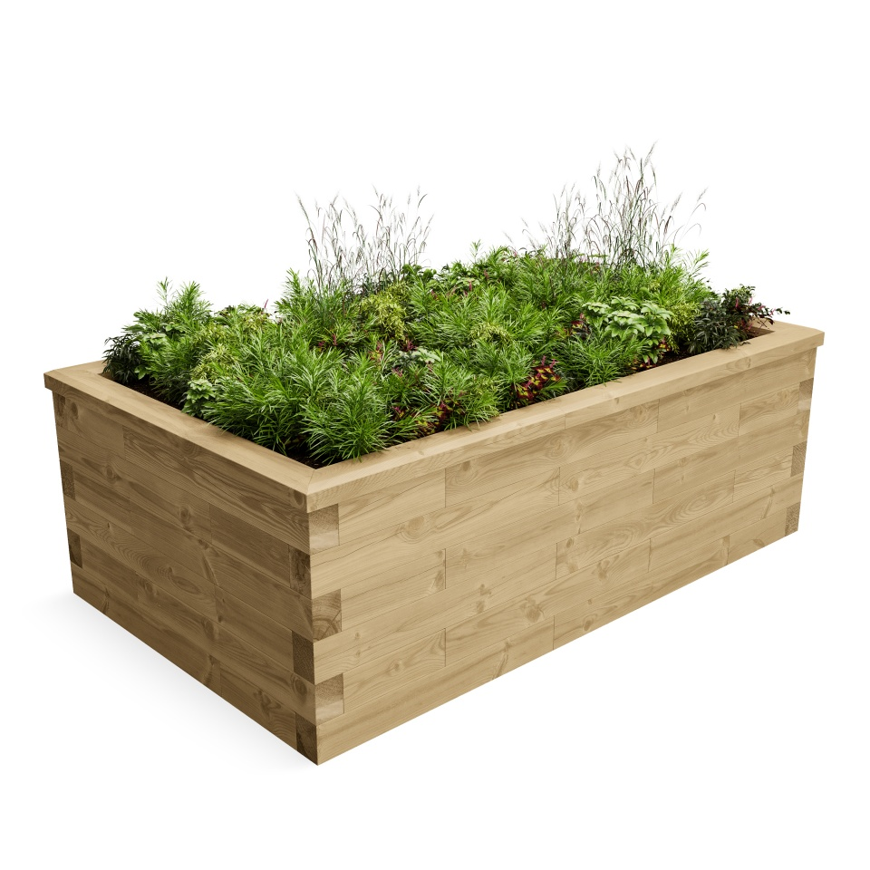 High Raised Bed CGI