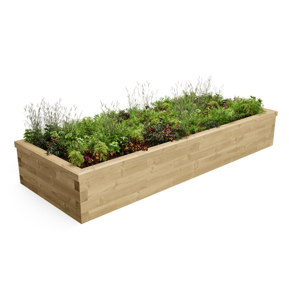 Large Raised Bed CGI