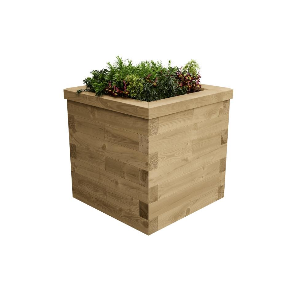 Large Garden Planter / 0.75 x 0.75 x 0.75 m