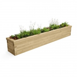 Long Raised Bed CGI