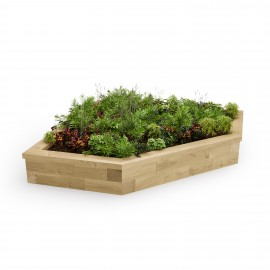 Corner Raised Bed