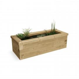 Raised Garden Pond