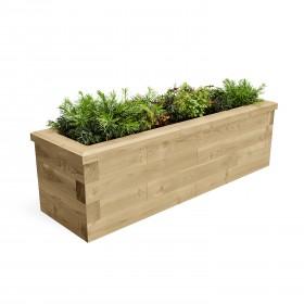Estrecho jardín elevado cama / 1,5 x 0,45 x 0,45m