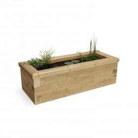 Kit de estanque pequeño / 1,125 x 0,45 x 0,35m