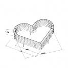 Heart Shaped Flower Bed 1